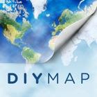 DIY Map GPS (世界旅行者のためのアプリ) icon