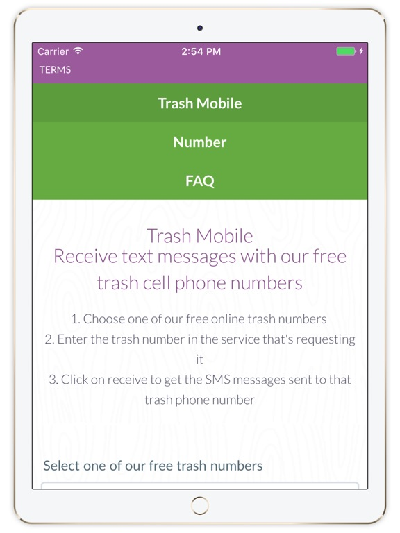 Find Phone Number Location Google Maps, Screenshot 1 For Trash Mobile Receive Text Messages Online, Find Phone Number Location Google Maps