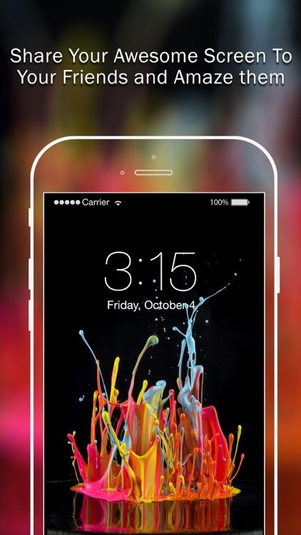 Splish Splash Color Backgrounds screenshot-4