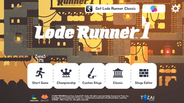 Lode Runner 1 screenshot-0