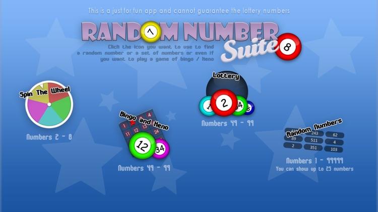Random Number Suite screenshot-4