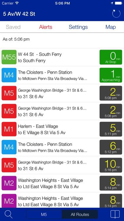 Transit Stop: NYC Bus Tracker