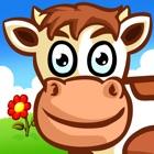 Puzzle di animali per i bambini - da allevamento icon