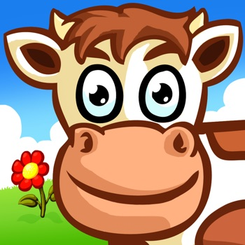 Boerderij dieren puzzel voor kinderen en peuters