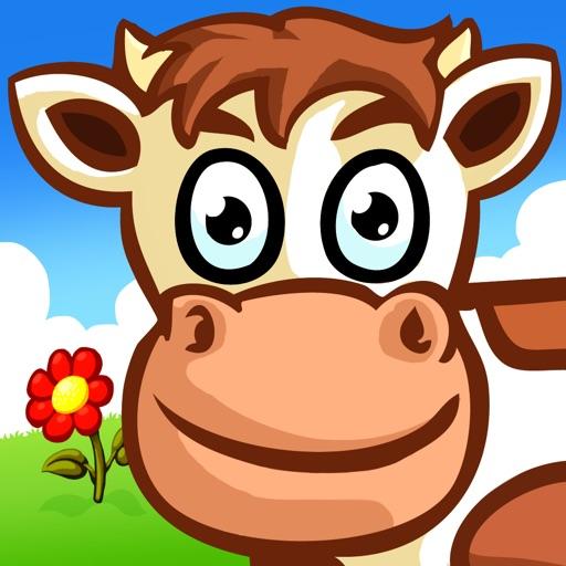 животное головоломки для детей - ферма Kids Puzzle
