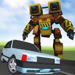 Robot Racer : Endless Mecha Fighting on Highway