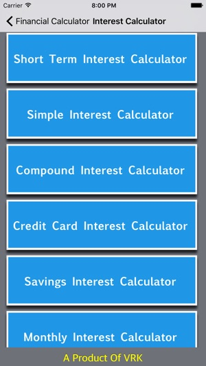 financial calculator collections on the app store