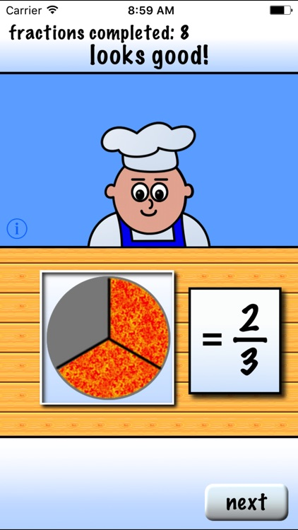 Pizza Fractions 1 screenshot-2