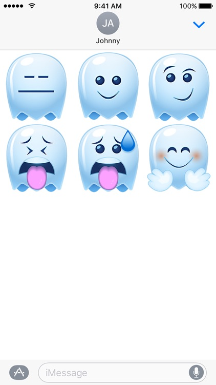 Ghost Emojis Standard screenshot-4