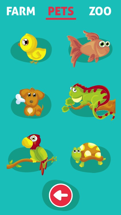 Cute Animals - Learn Animal Sounds, Noises & Names