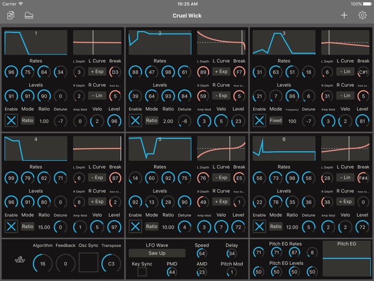 Patch Touch: for Yamaha DX/TX screenshot-0