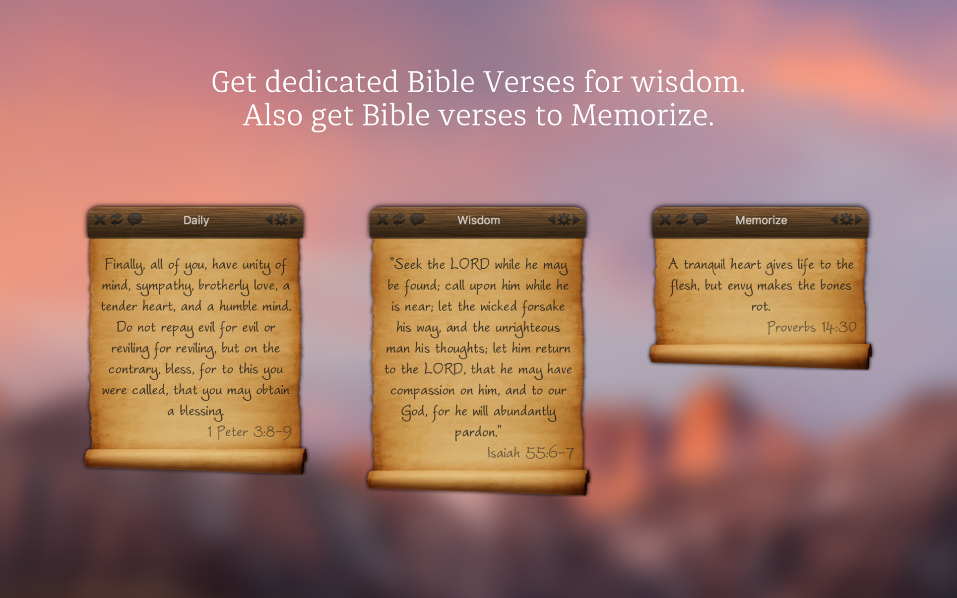 Bible Verses - Daily Verse on the Mac App Store