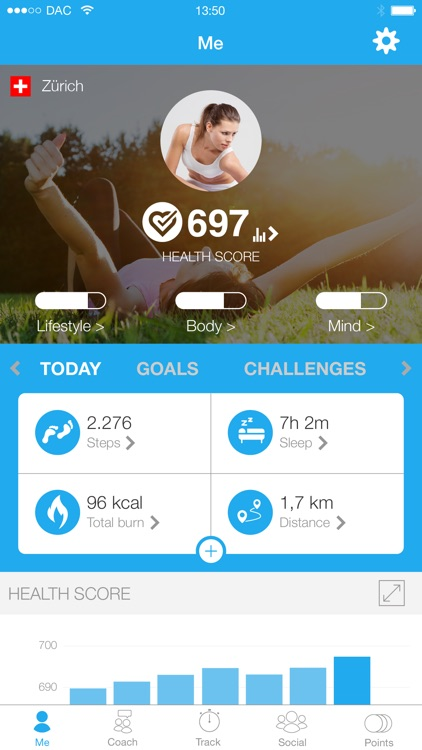 dacadoo – Health Score & Lifestyle Navigation screenshot-0