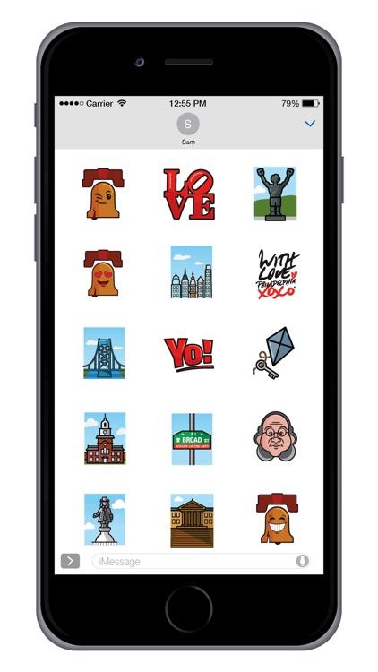 Philadelphia Sticker Pack