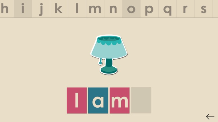 Montessorium: Intro to Words screenshot-0