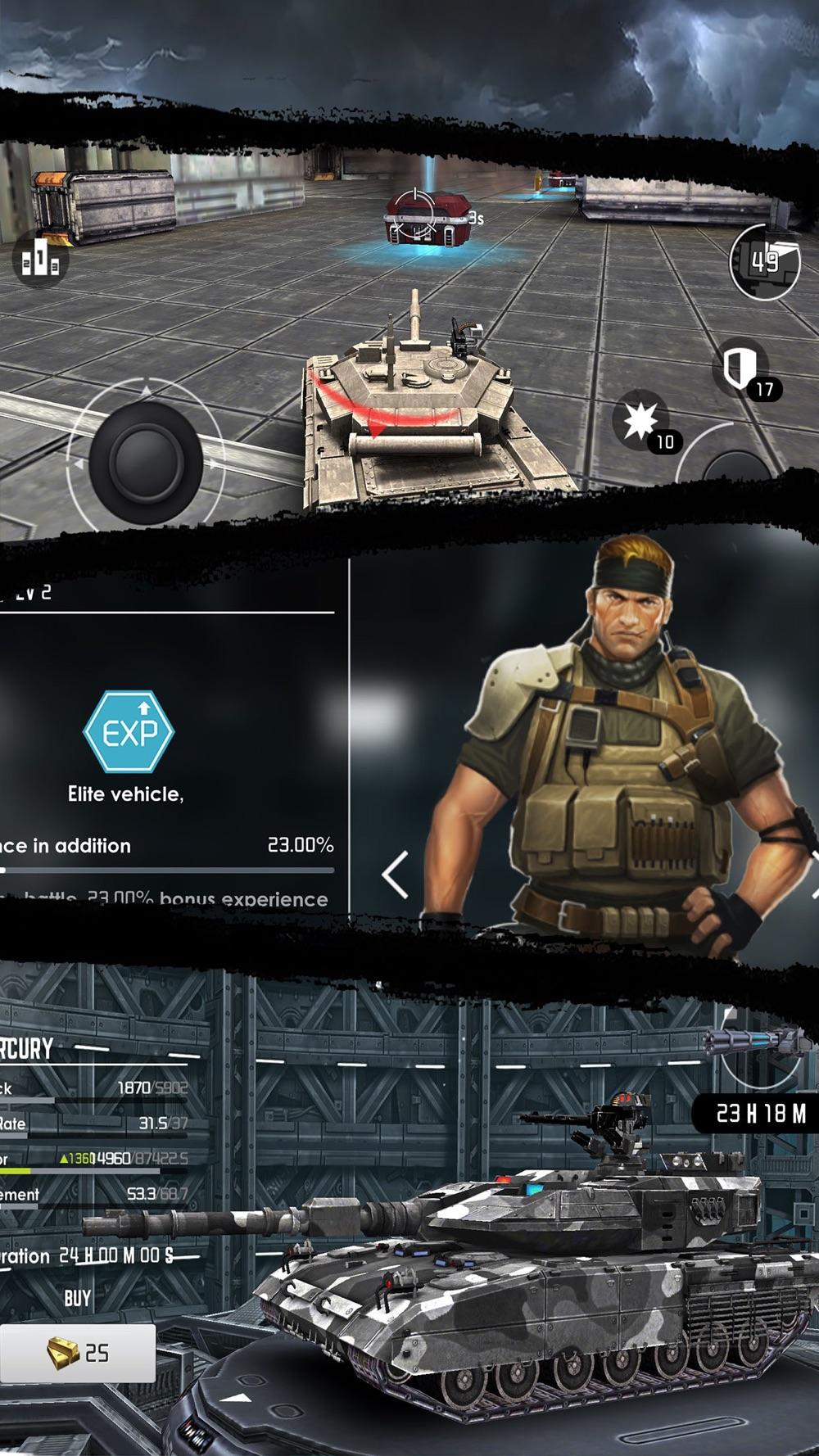 Iron Storm – 3D Tank Battle