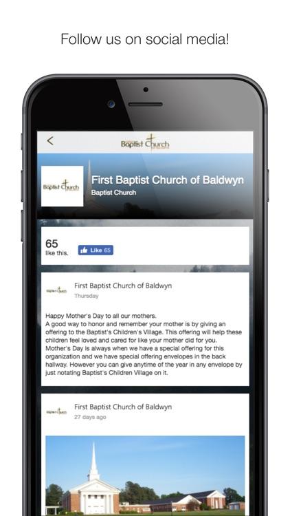Baldwyn First Baptist Church