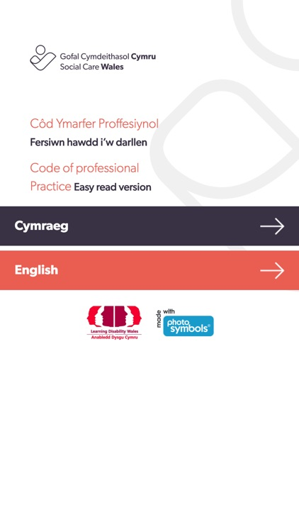 Easy Read Social Care Code By Care Council For Wales