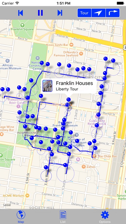 Philadelphia History GPS Audio SelfTour screenshot-0