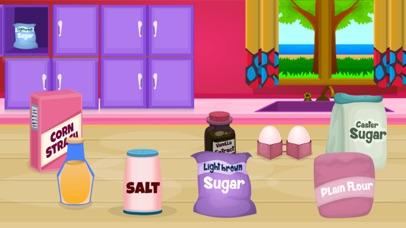Delicious Caramel Cookies-Food Making Game screenshot one