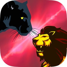 Activities of Black Panther VS Lion : Wild Volleyball