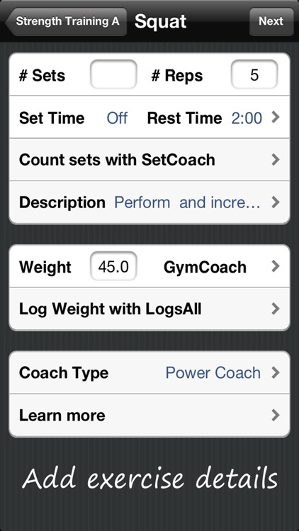 Workout Coach - Manages Your Exercise Routines screenshot-3