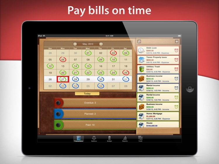 Money for iPad Free screenshot-3