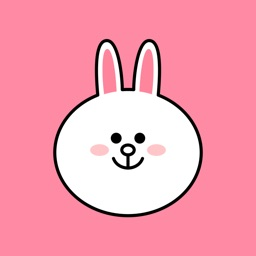 Cheerful CONY emoji - LINE FRIENDS