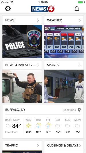 wivb news 4 buffalo news and weather on the app store. Black Bedroom Furniture Sets. Home Design Ideas