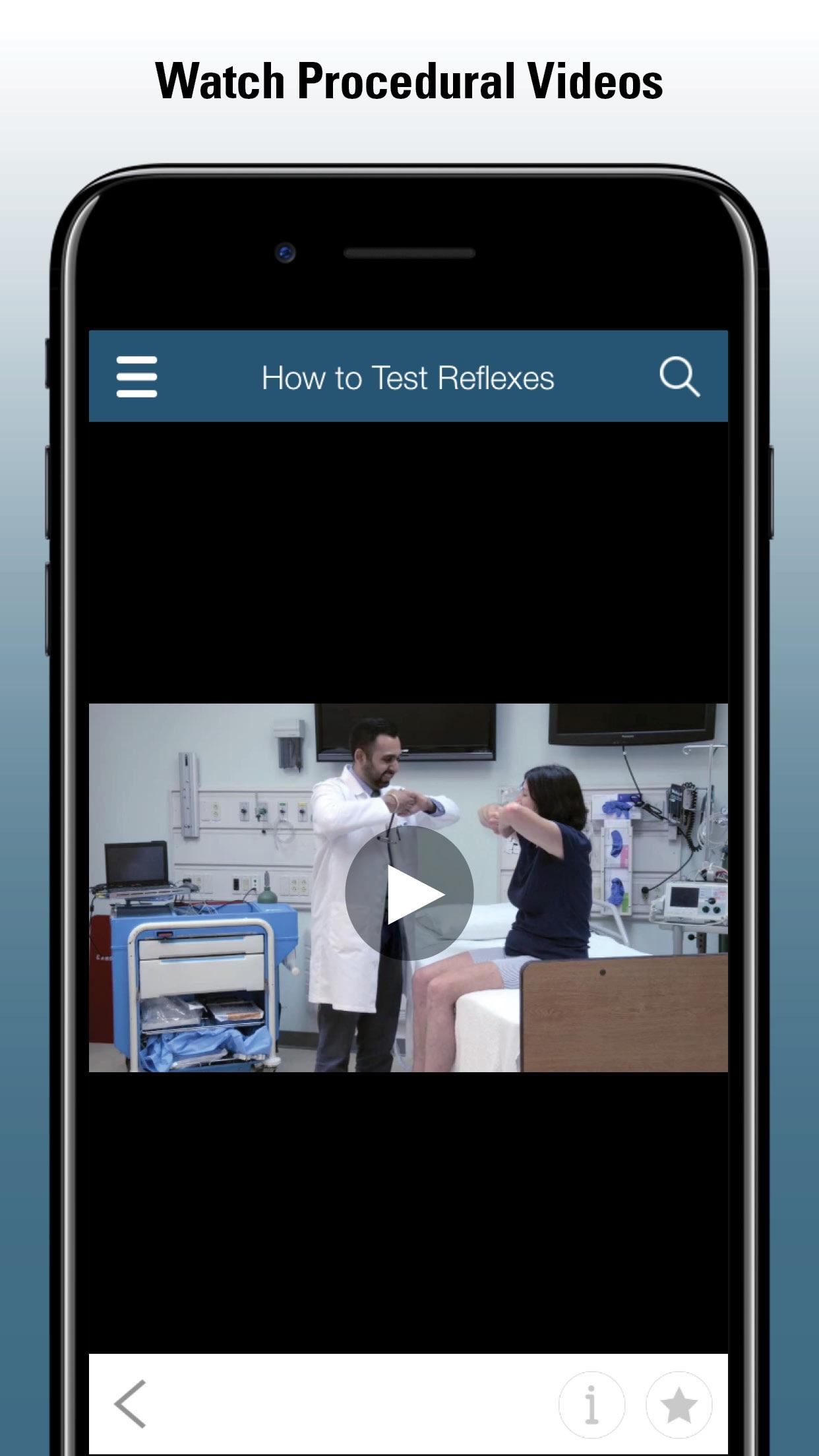 Merck Manual Professional Screenshot