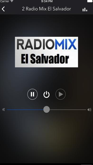 El Salvador Radios Live screenshot one