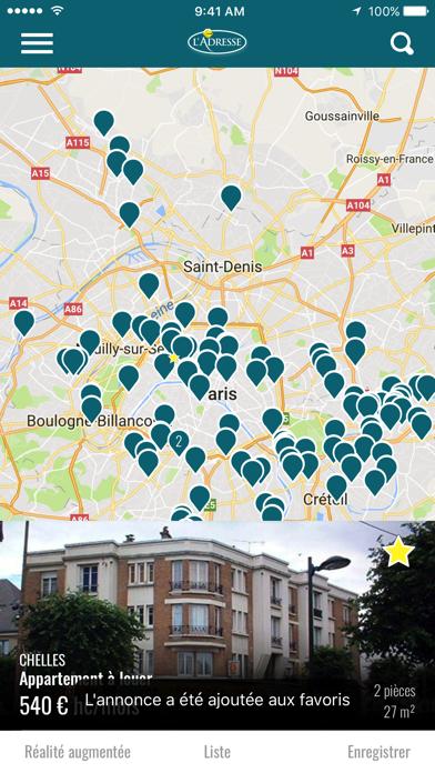 messages.download L'Adresse - Réseau immobilier software