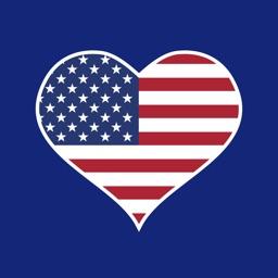 USA American Patriot:July 4th, Memorial, Labor Day