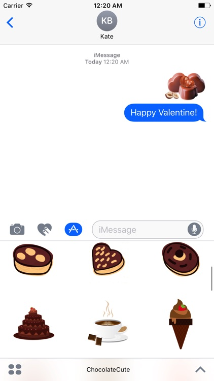 Chocolate Cute Stickers