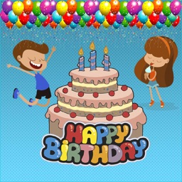 Happy Birthday stickers to photos