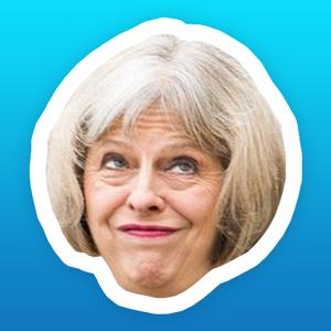 May-moji - The many faces of Theresa May app