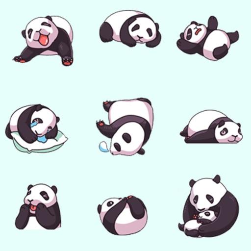 Panda in Your Photo panda stickers