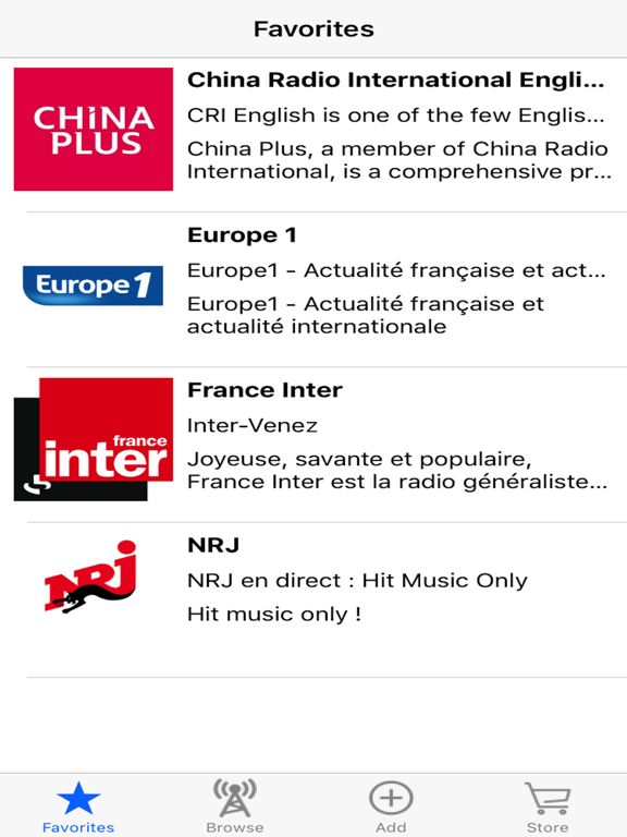 Live Internet Radio Tuner screenshot 7