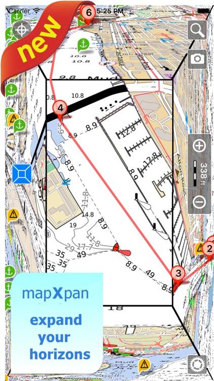 Aqua Map South Dakota SD Lakes HD- Nautical Charts screenshot-0