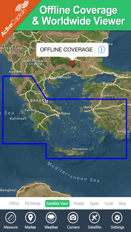 Marine: Aegean Sea (South) HD - GPS Map Navigator screenshot-4