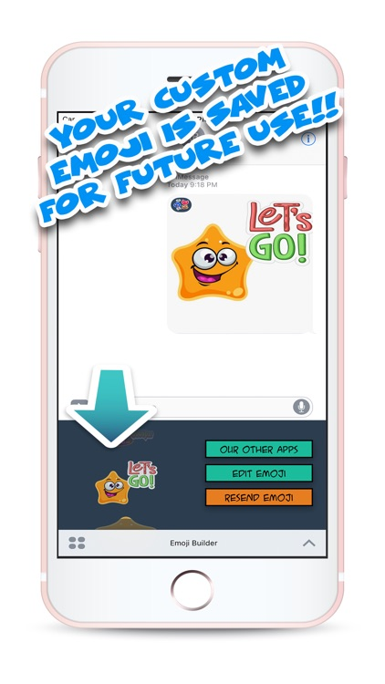 Cute Emoji Builder screenshot-3
