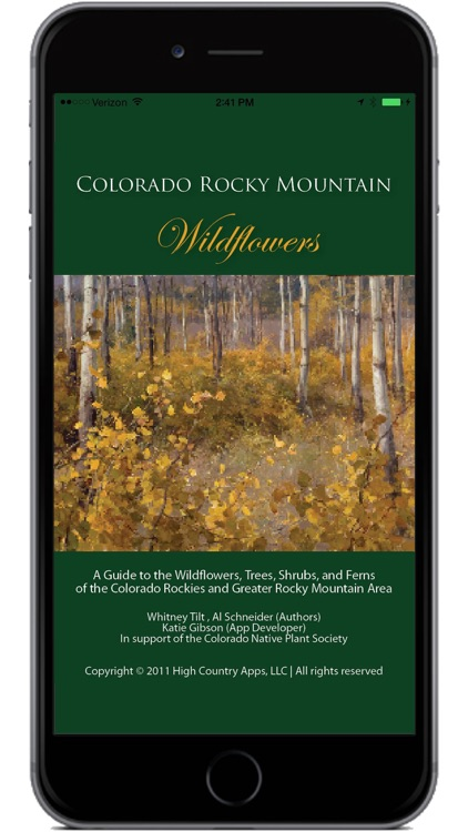 Colorado Rocky Mtn Wildflowers screenshot-0