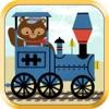 子供向け列車ゲーム:動物園鉄道車両パズル - 教育版