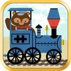 Паровозики для детей- Железнодорожный зоопарк icon
