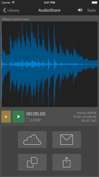 AudioShare - audio document manager