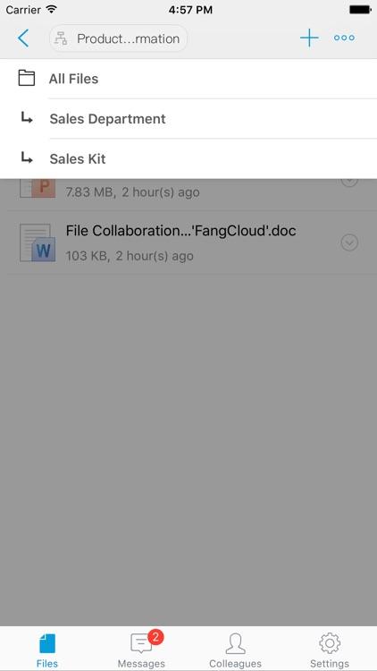 FangCloud - Enterprise File Management Expert