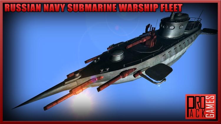Russian Navy Submarine Battle - Naval Warship Sim screenshot-4