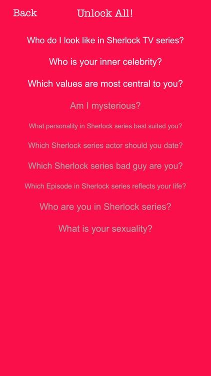 your sherlock life quiz