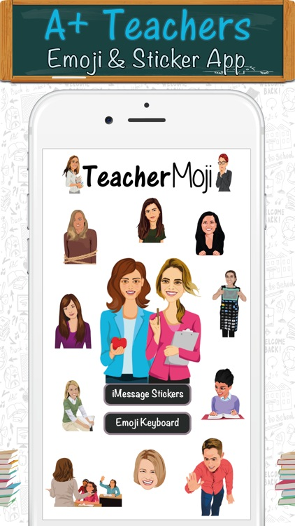 TeacherMoji - Teacher Emojis and Stickers!