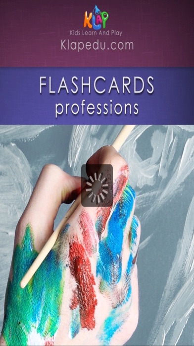 Flashcards - Professions screenshot two